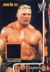 2002 Fleer WWF Royal Rumble Memorabilia #8 Brock Lesnar