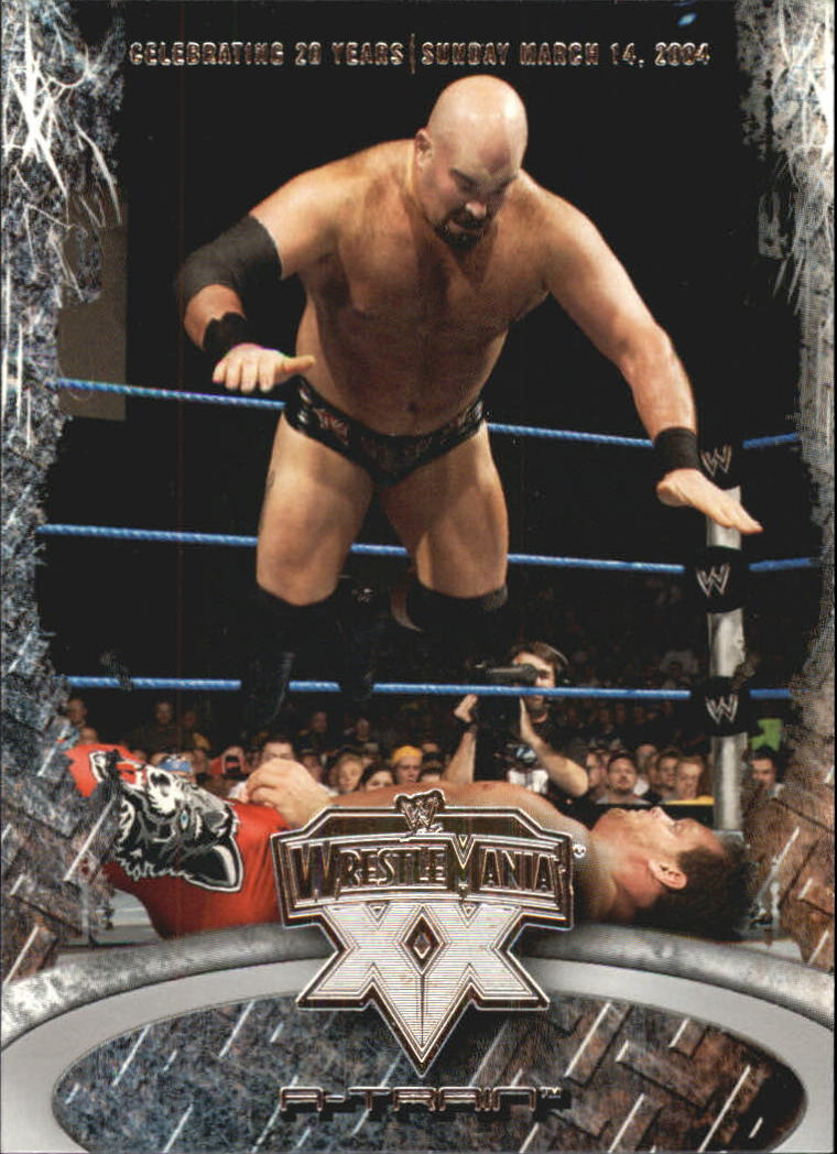 2004 Fleer WWE WrestleMania XX #2 A-Train