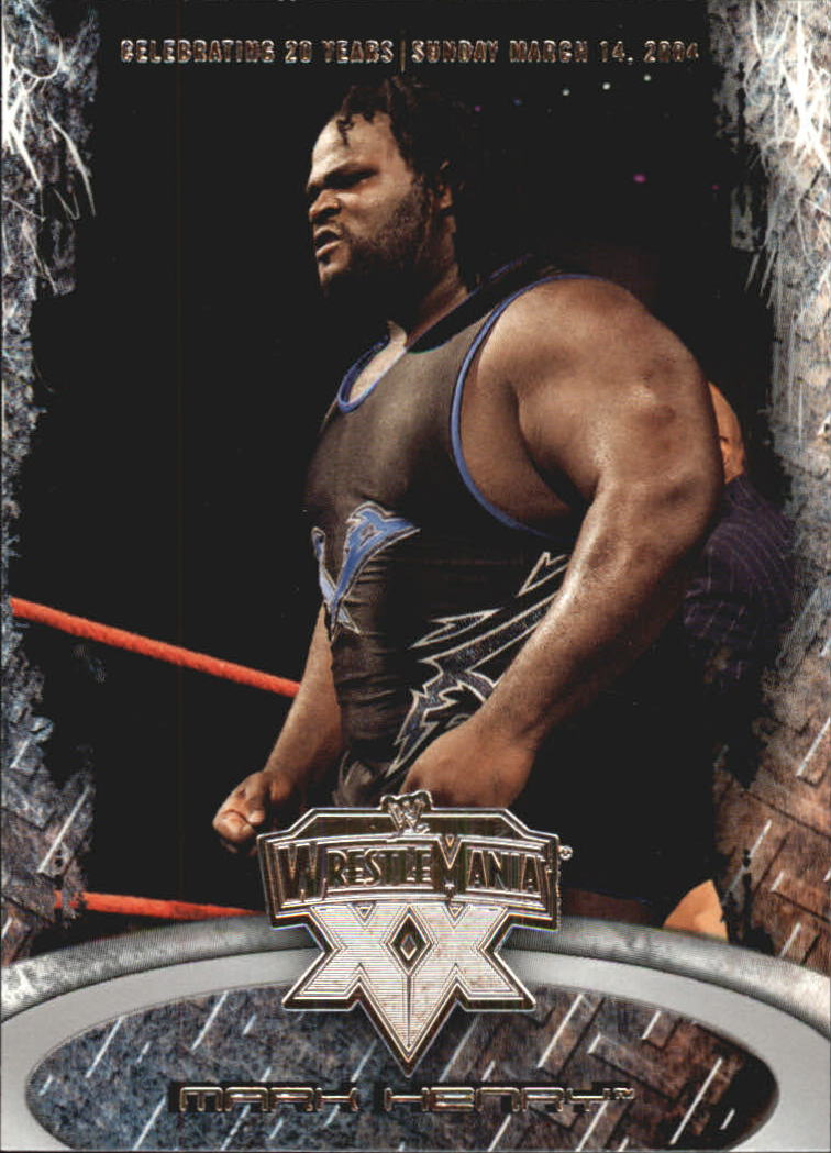 2004 Fleer WWE WrestleMania XX #9 Mark Henry