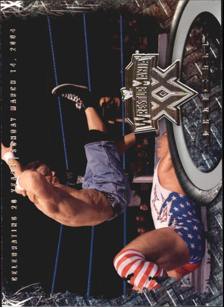 2004 Fleer WWE WrestleMania XX #10 John Cena