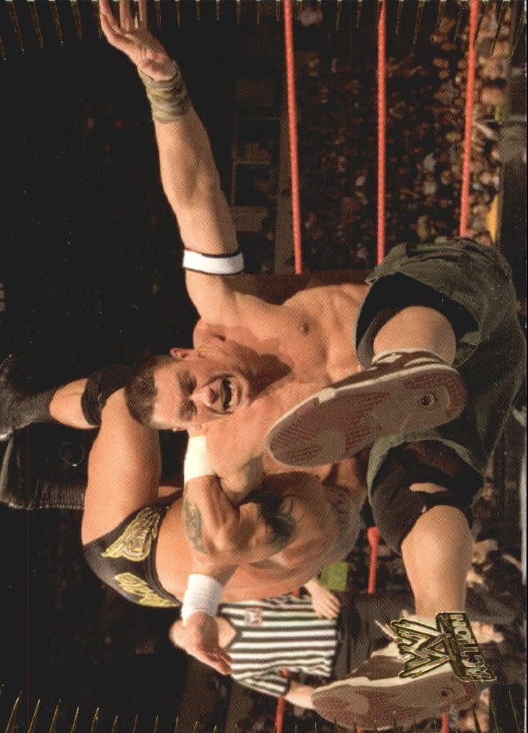 2007 Topps Action WWE #1 John Cena