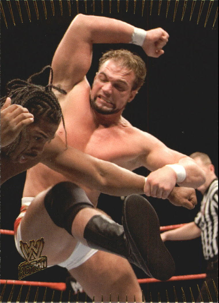 2007 Topps Action WWE #3 Charlie Haas