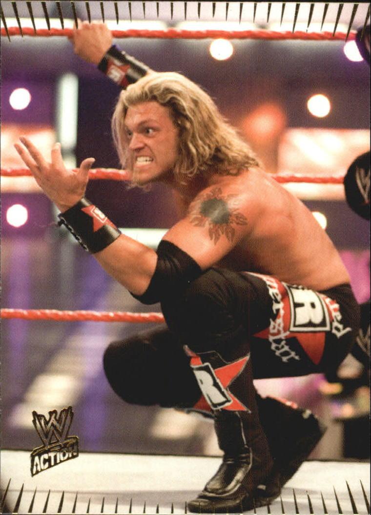 2007 Topps Action WWE #5 Edge