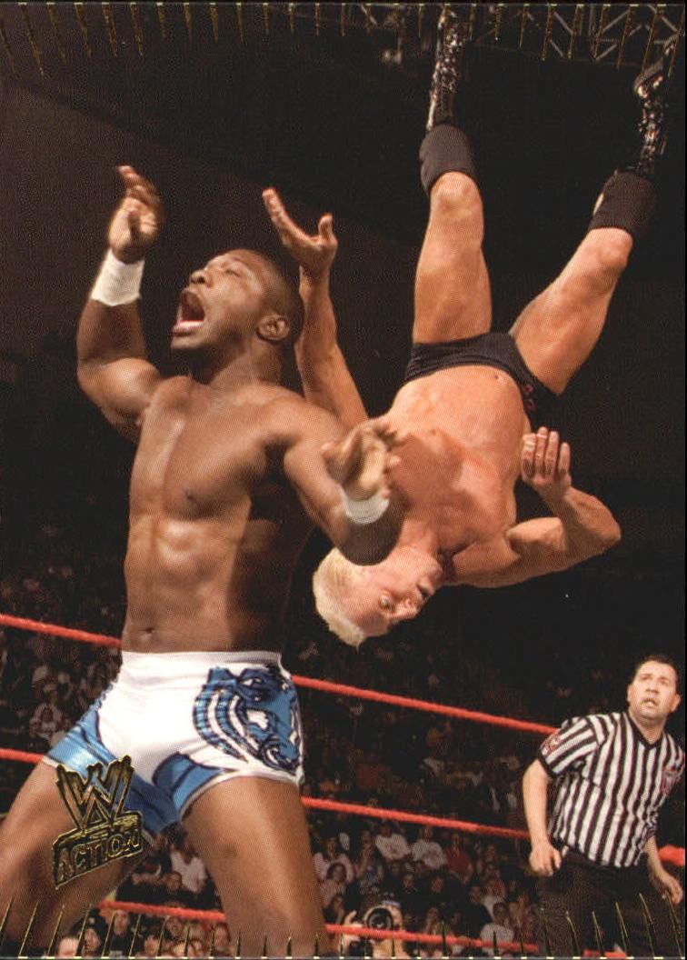 2007 Topps Action WWE #17 Shelton Benjamin
