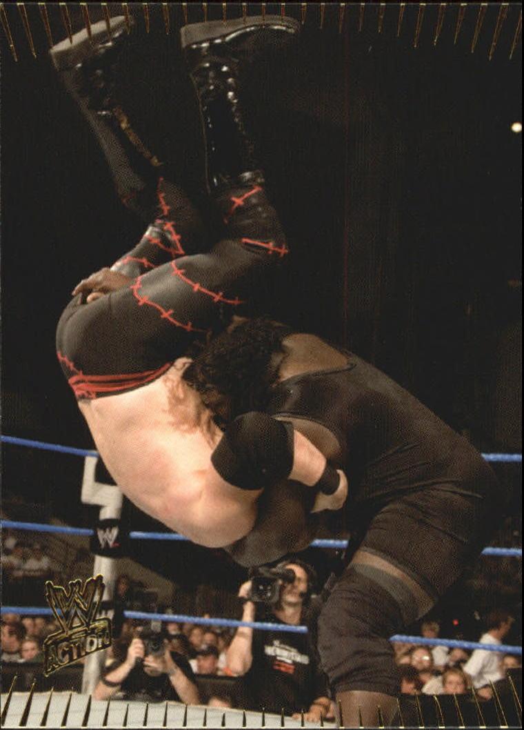 2007 Topps Action WWE #44 Mark Henry