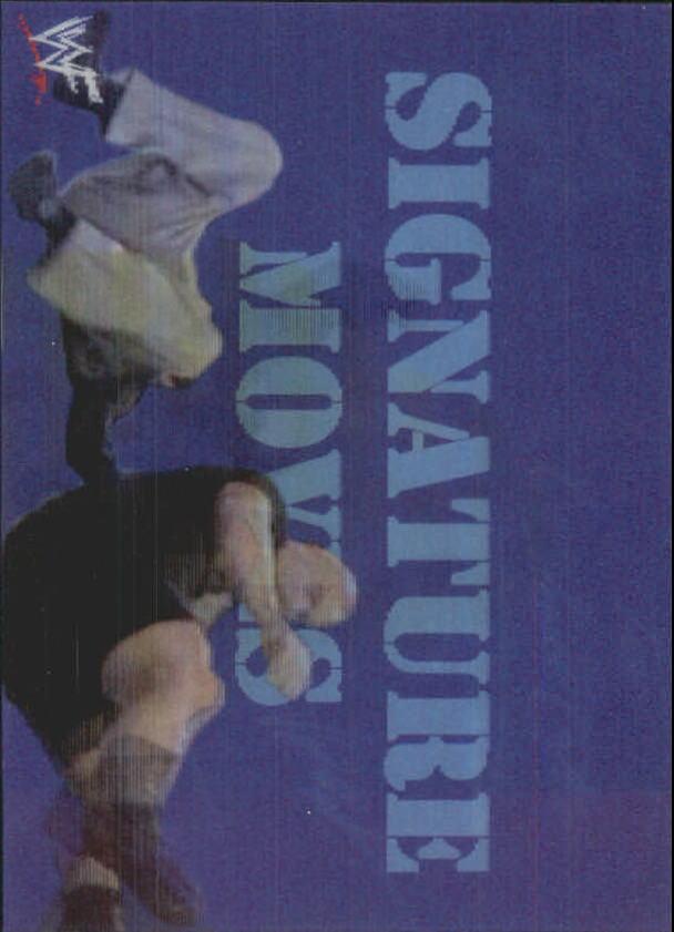 1999 Artbox WWF MotionCardz #2 Stone Cold Steve Austin SM