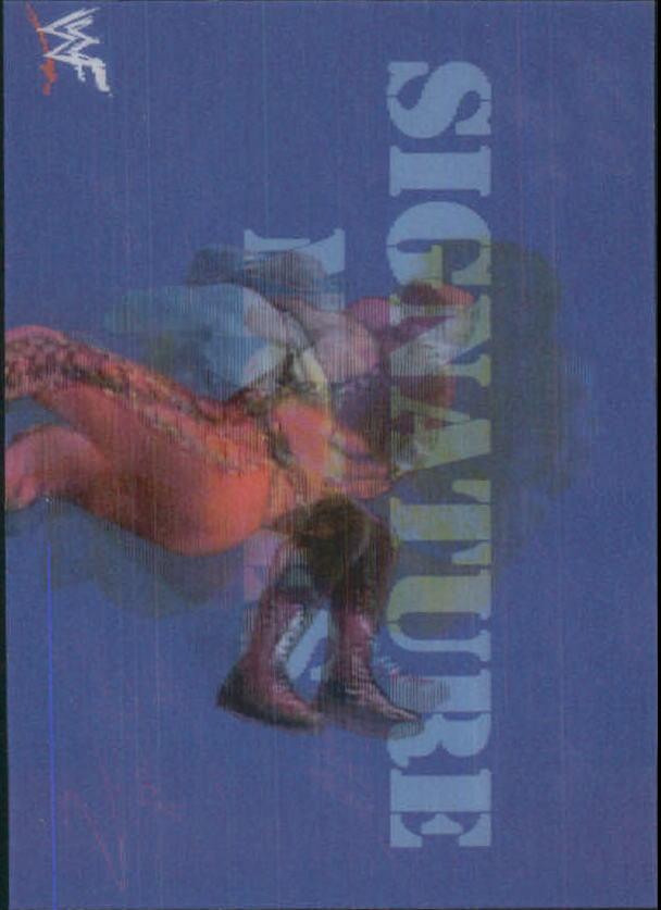 1999 Artbox WWF MotionCardz #3 Kane SM