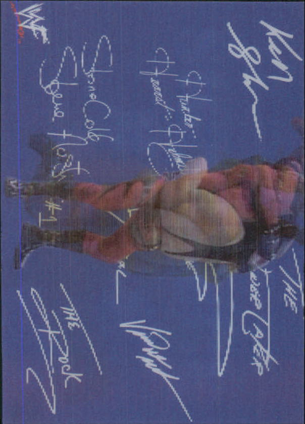 1999 Artbox WWF MotionCardz #4 Kane SM