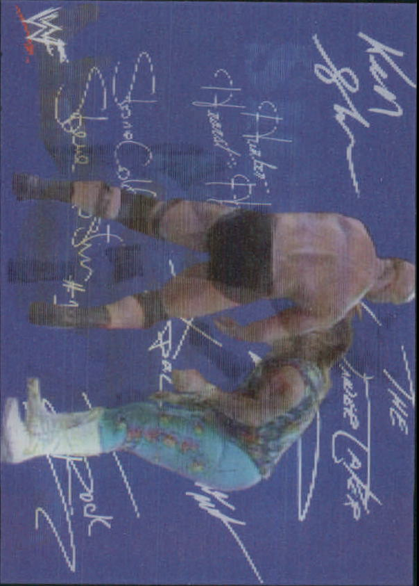 1999 Artbox WWF MotionCardz #7 Stone Cold Steve Austin SM