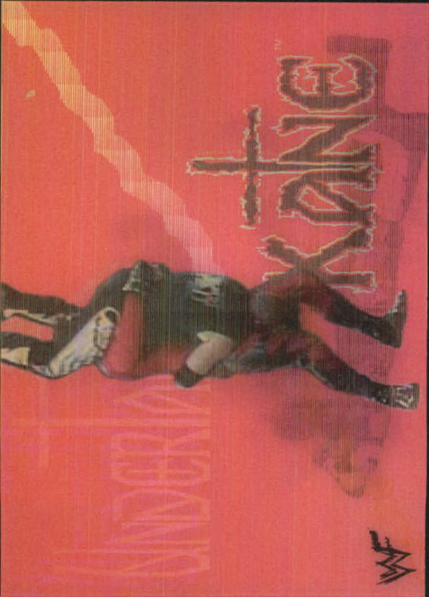 1999 Artbox WWF MotionCardz #10 The Undertaker/Kane