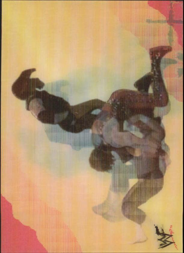 1999 Artbox WWF MotionCardz #13 The Undertaker/Kane