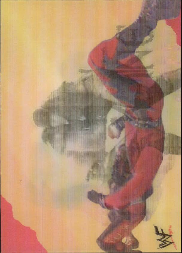 1999 Artbox WWF MotionCardz #16 The Undertaker/Kane