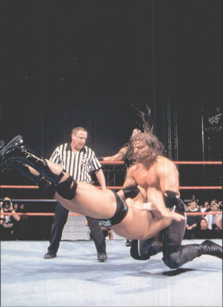 1999 Comic Images WWF Smackdown #8 Triple H