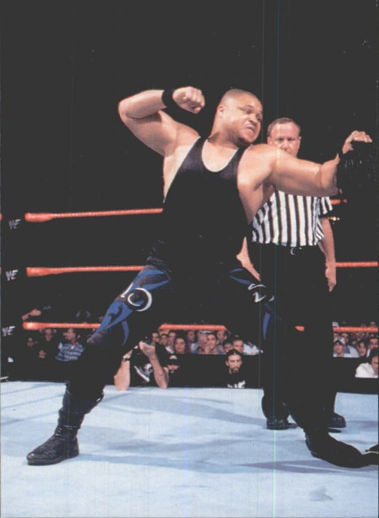 1999 Comic Images WWF Smackdown #14 D'Lo Brown
