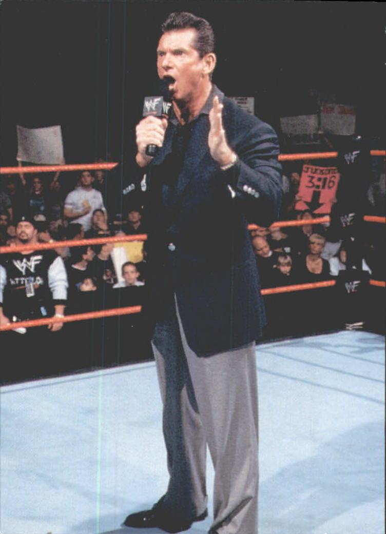 1999 Comic Images WWF Smackdown #41 Vince McMahon