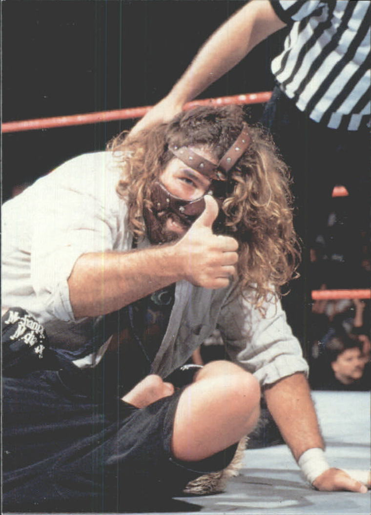 1999 Comic Images WWF Smackdown #46 Mankind