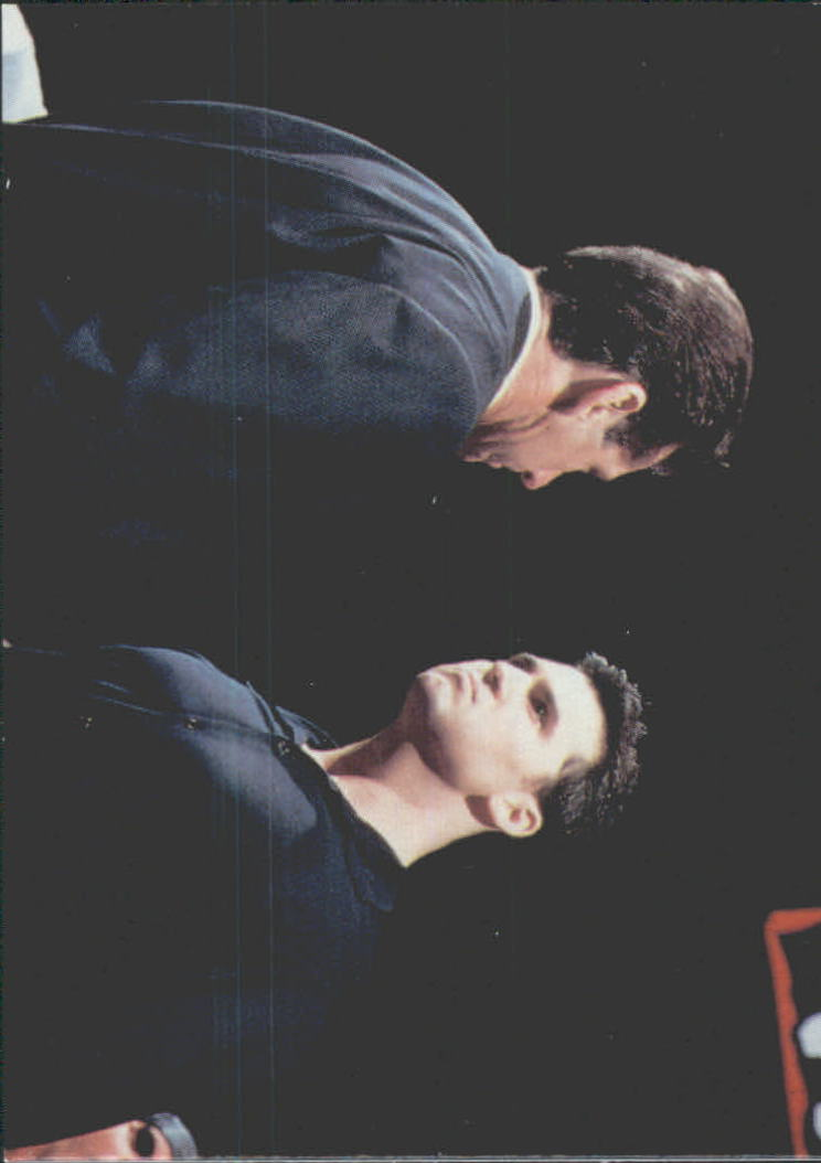 1999 Comic Images WWF Smackdown #66 Vince McMahon/Shane McMahon