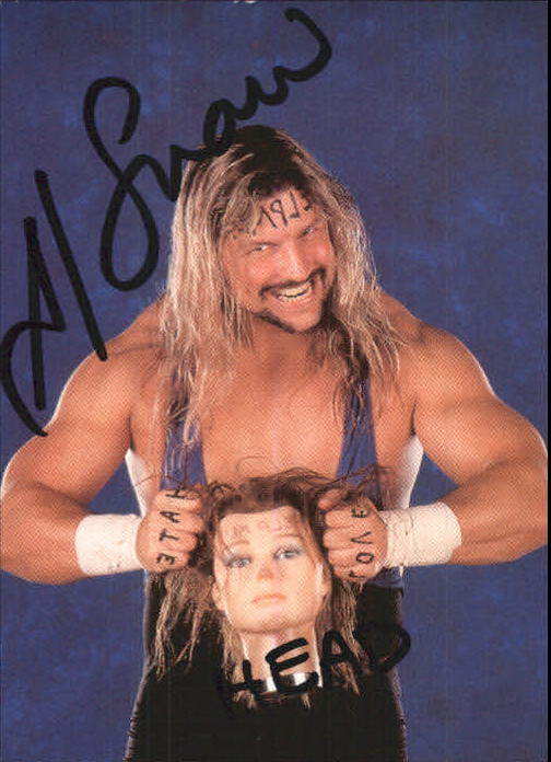 1999 Comic Images WWF Smackdown Autographs #1 Al Snow