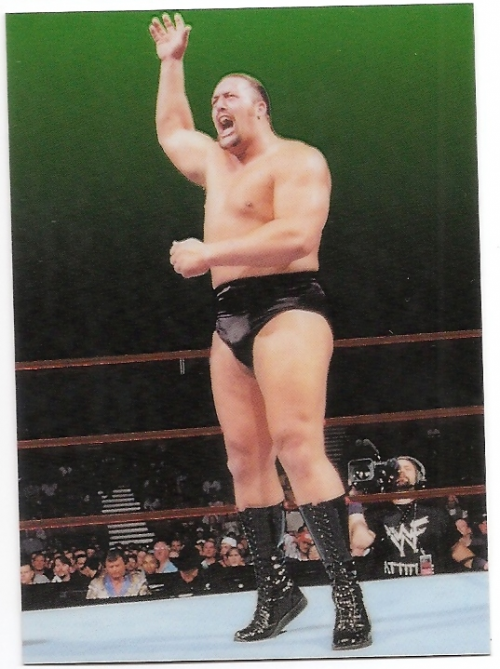 1999 Comic Images WWF Smackdown Chromium #4 The Big Show