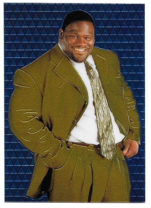 1999 Comic Images WWF Smackdown Chromium #21 Mark Henry