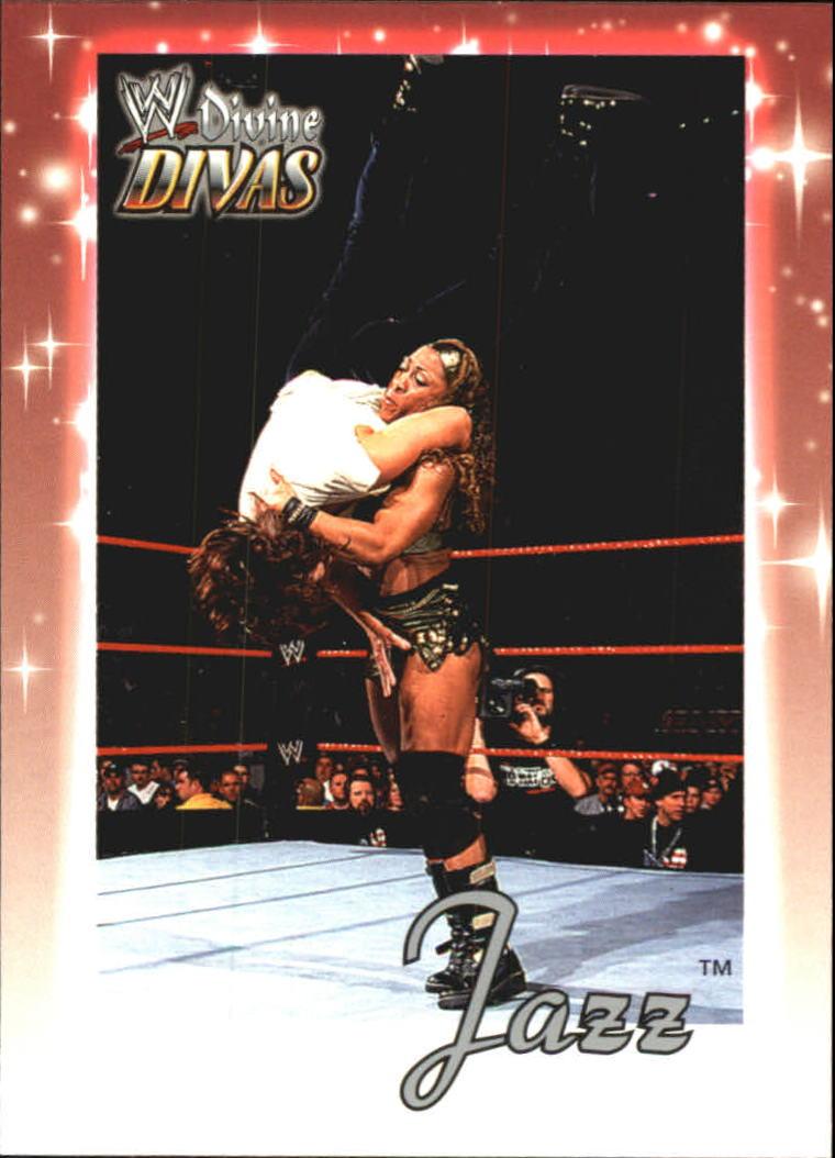 2003 Fleer WWE Divine Divas #8 Jazz