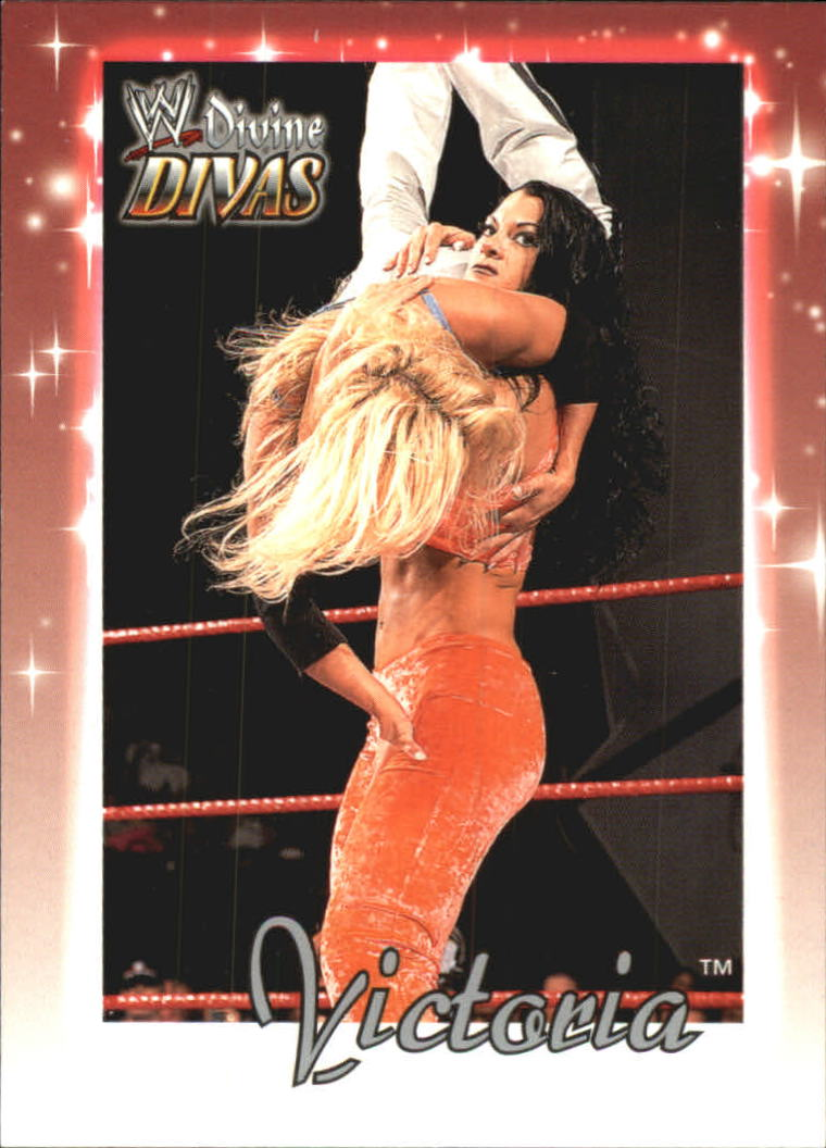 2003 Fleer WWE Divine Divas #10 Victoria
