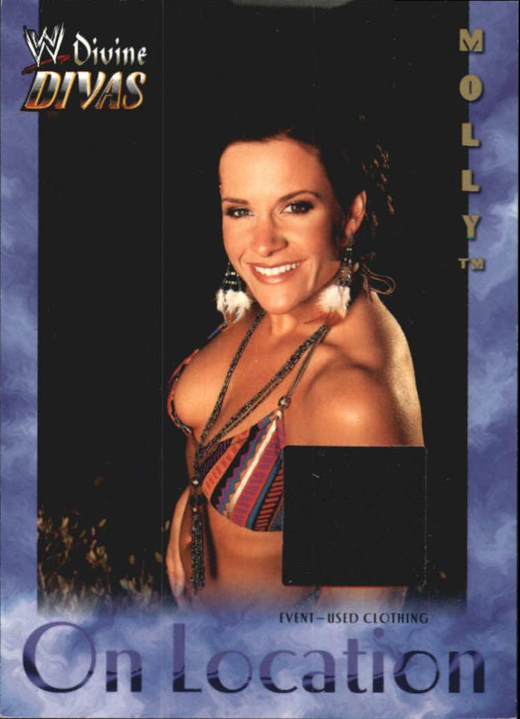 2003 Fleer WWE Divine Divas On Location Memorabilia #4 Molly