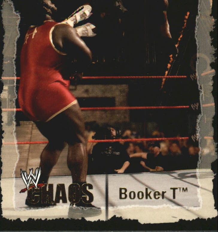 2004 Fleer WWE Chaos #13 Booker T