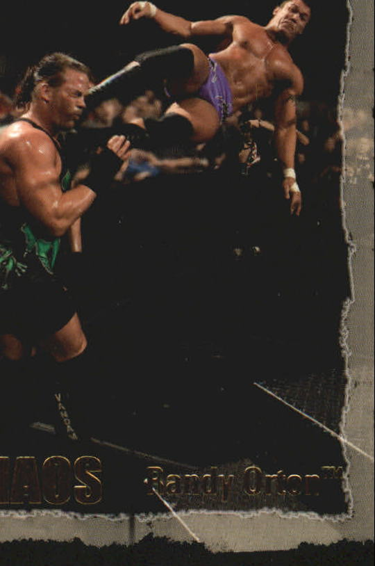 2004 Fleer WWE Chaos #64 Randy Orton