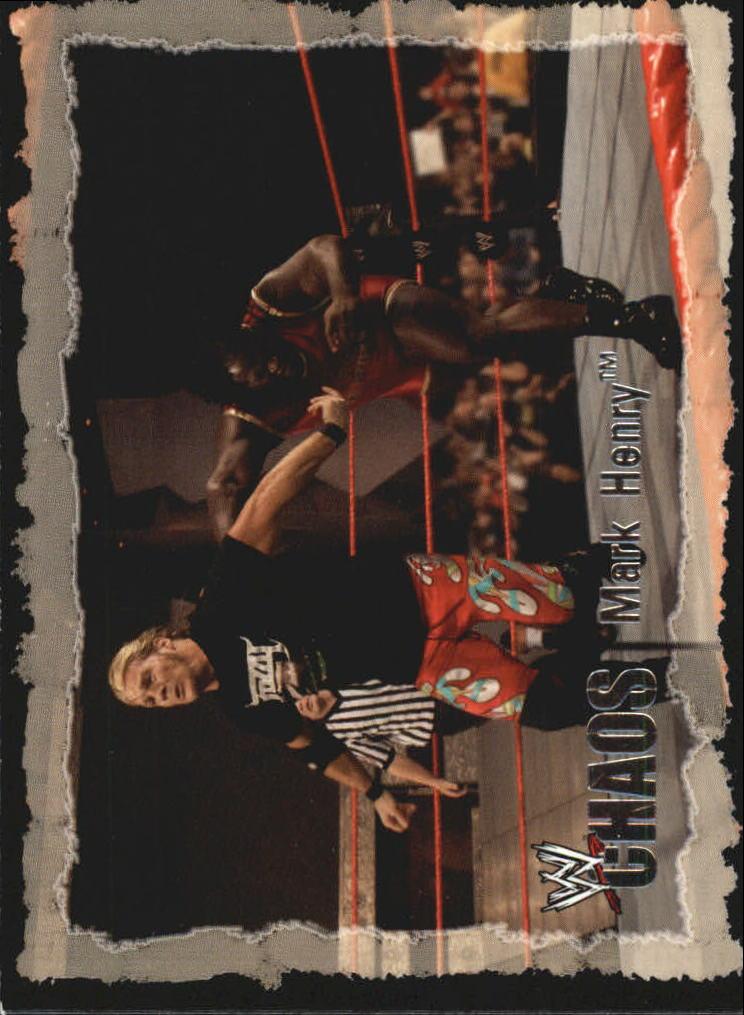 2004 Fleer WWE Chaos #68 Mark Henry
