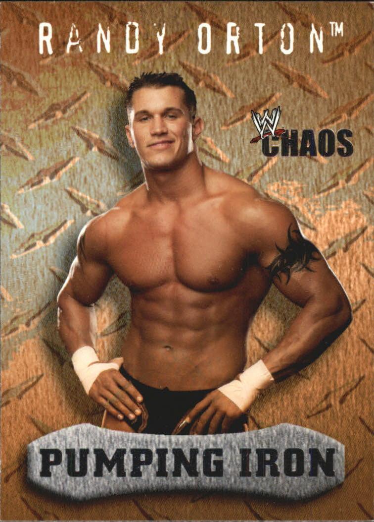 2004 Fleer WWE Chaos #91 Randy Orton PI