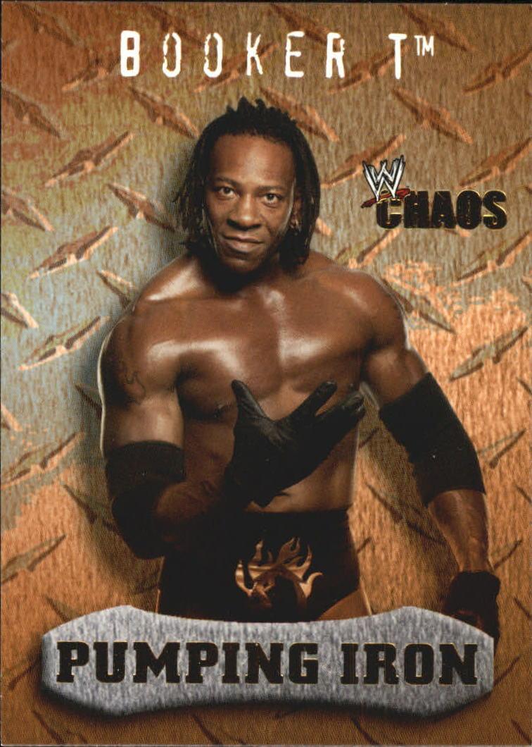 2004 Fleer WWE Chaos #93 Booker T PI