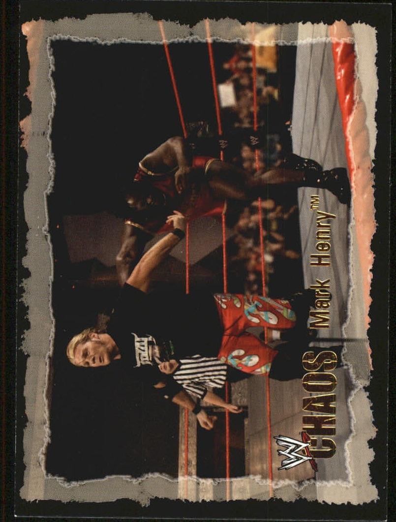 2004 Fleer WWE Chaos Gold #68 Mark Henry