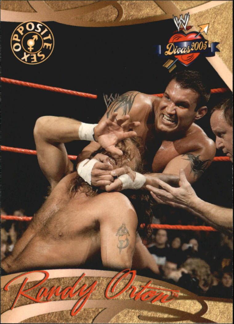 2004 Fleer WWE Divine Divas 2005 #78 Randy Orton OS