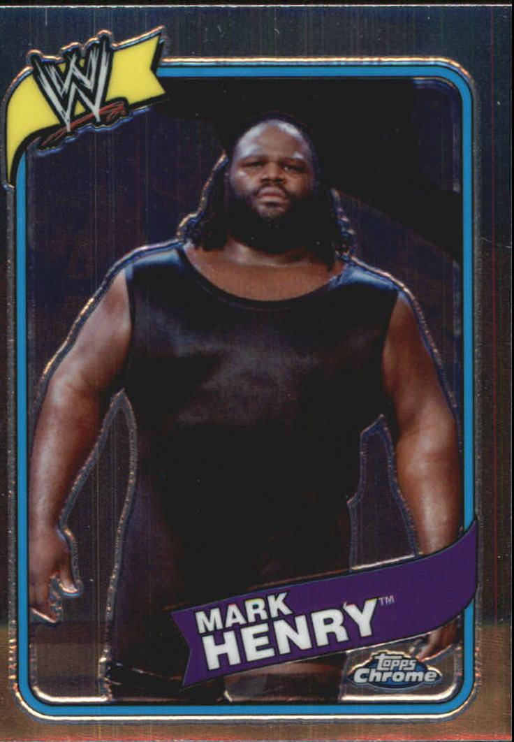 2008 Topps Heritage III Chrome WWE #20 Mark Henry