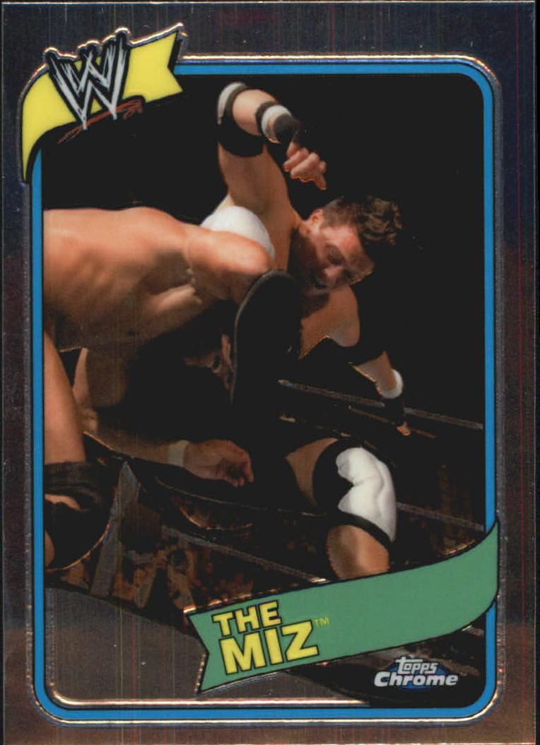 2008 Topps Heritage III Chrome WWE #35 The Miz