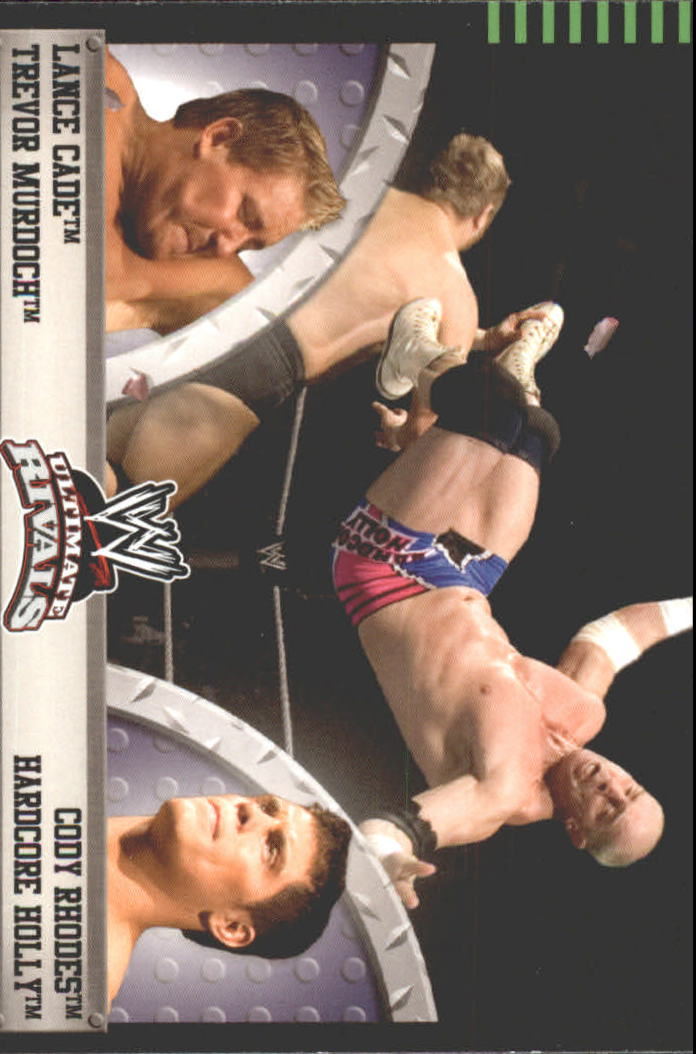 2008 Topps Ultimate Rivals WWE #29 Cade/Murdoch vs. Rhodes/Holly