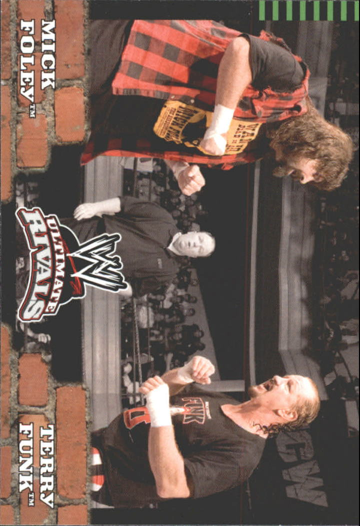 2008 Topps Ultimate Rivals WWE #77 Mick Foley vs. Terry Funk