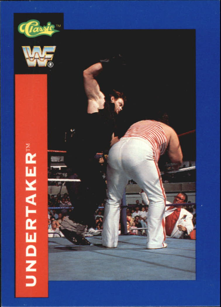 1991 Classic WWF Superstars #106 Undertaker