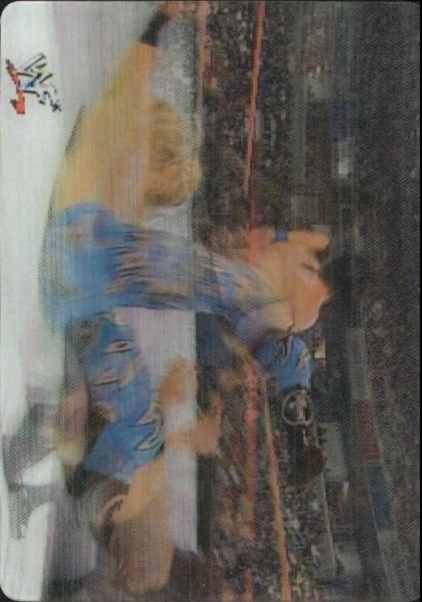 2001 Artbox WWF MotionCardz #4 Bradshaw/Edge