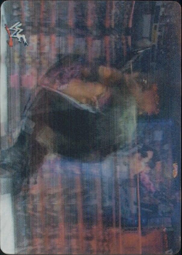 2001 Artbox WWF MotionCardz #6 Triple H/Chris Jericho