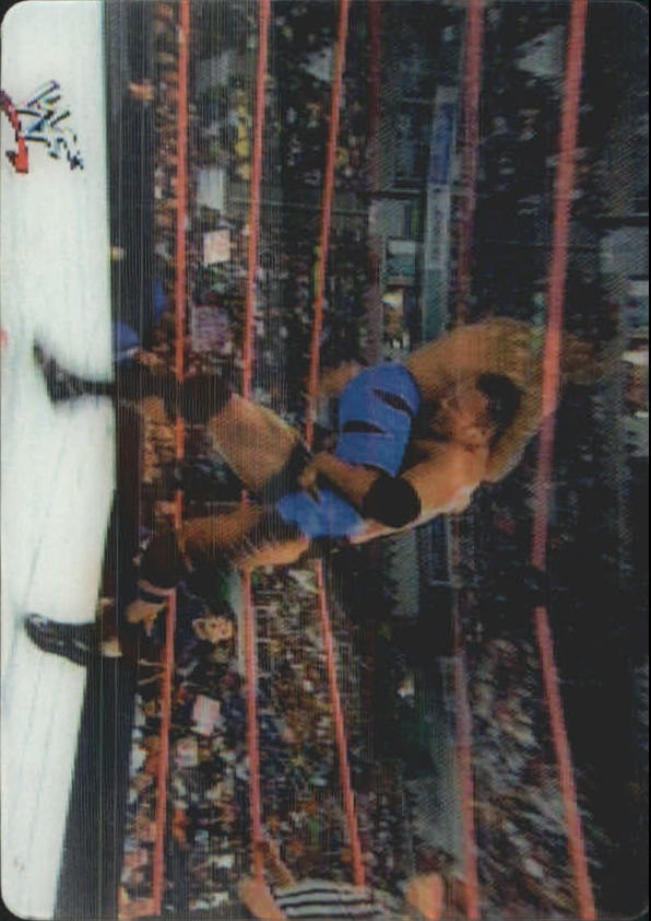 2001 Artbox WWF MotionCardz #7 The Rock/Chris Benoit