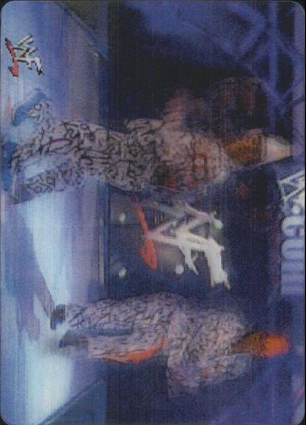 2001 Artbox WWF MotionCardz #8 Scotty 2 Hotty/Grand Master Sexay