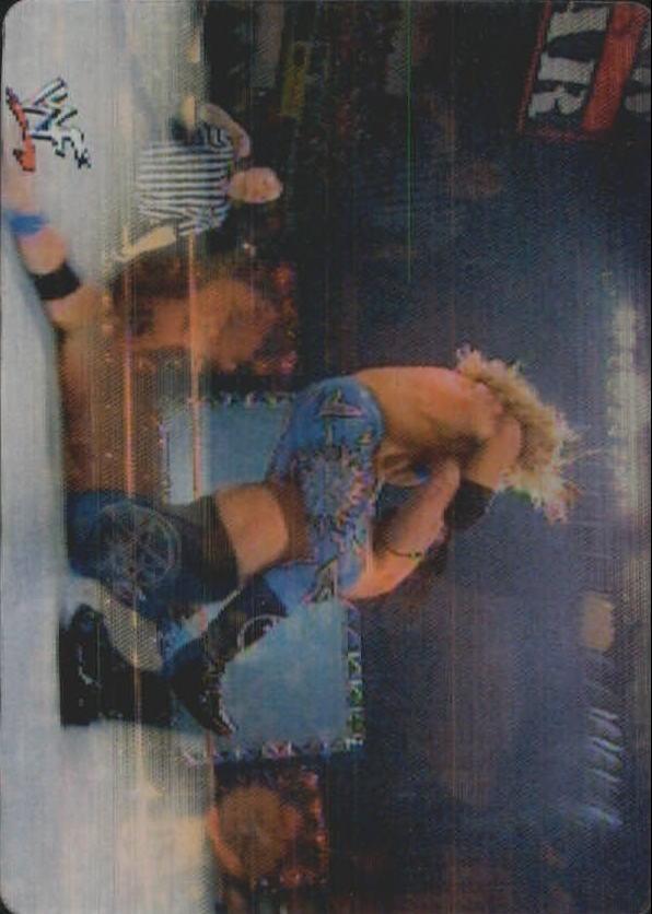 2001 Artbox WWF MotionCardz #10 Bradshaw/Edge