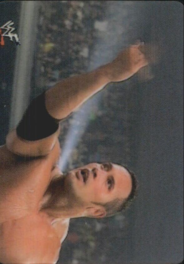 2001 Artbox WWF MotionCardz #11 The Rock