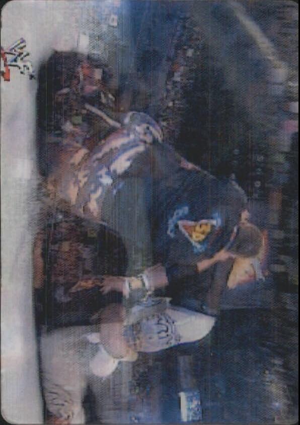 2001 Artbox WWF MotionCardz #13 Ray Dudley/Christian