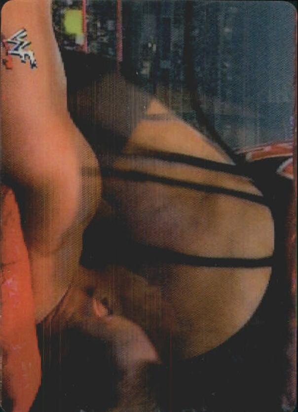 2001 Artbox WWF MotionCardz #15 Rikishi/Val Venis