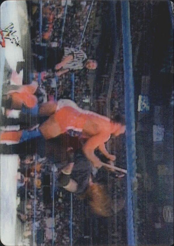 2001 Artbox WWF MotionCardz #18 Kurt Angle/The Undertaker