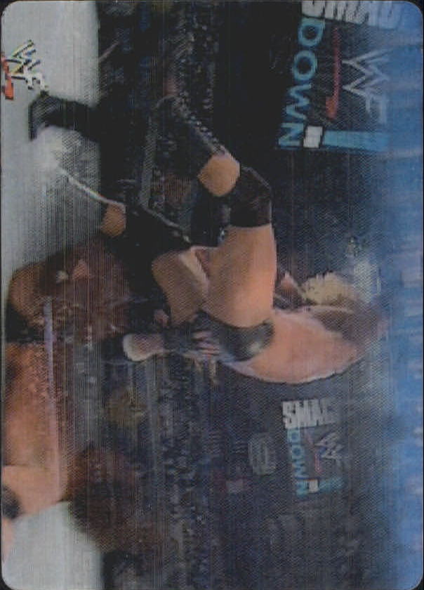 2001 Artbox WWF MotionCardz #19 The Undertaker/Triple H