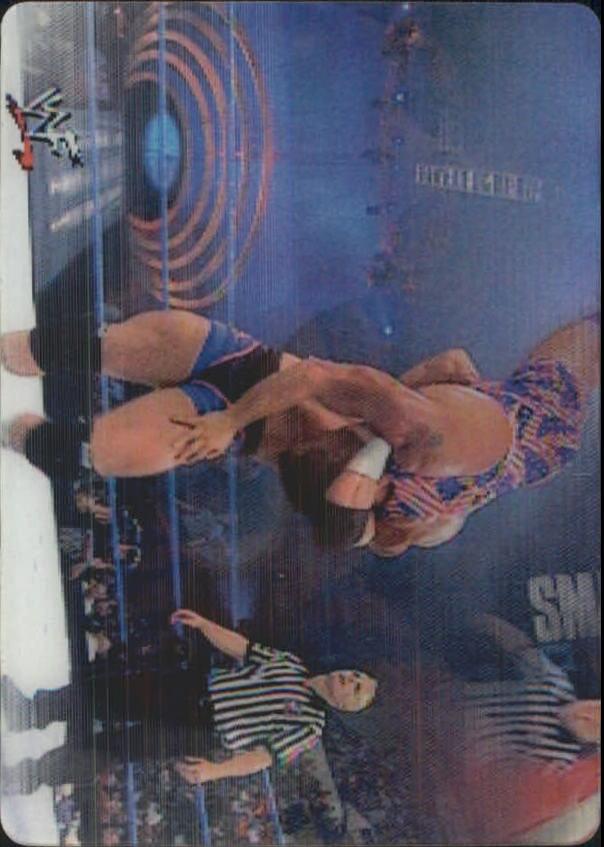 2001 Artbox WWF MotionCardz #22 Hardcore Holly/Kurt Angle